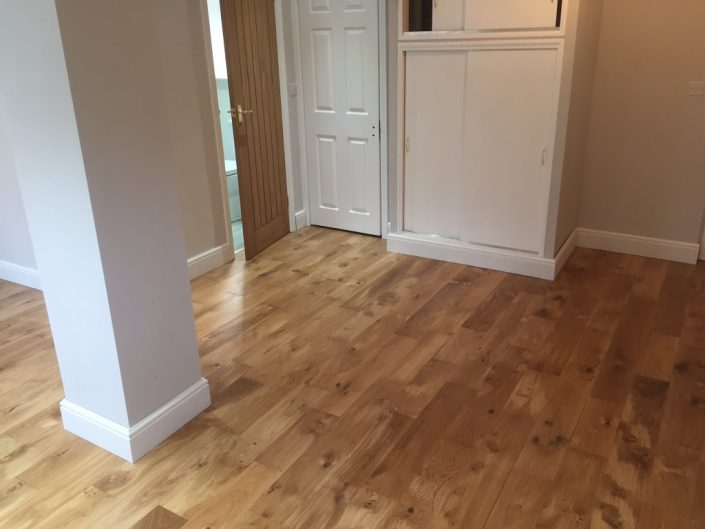 wooden floor by RC Carpentry & Renovations