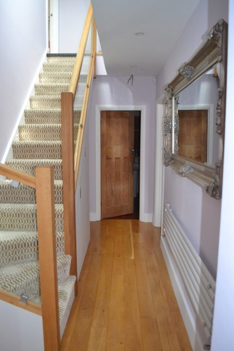 wooden floor and staircase by RC Carpentry & Renovations