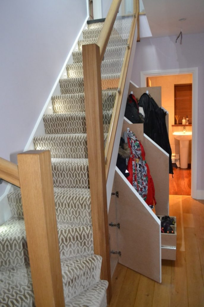 Wooden staircase by RC Carpentry & Renovations Brighton