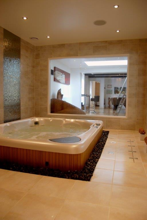 Hot tub installation and carpentry - RC Carpentry & Renovations