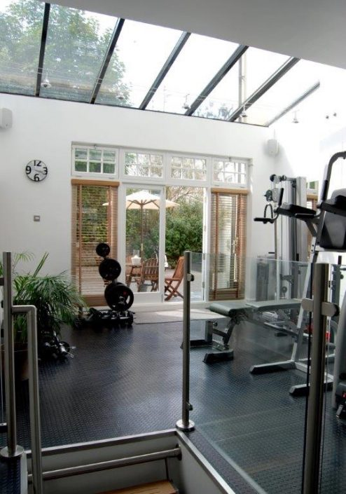 Gym by RC Carpentry & Renovations