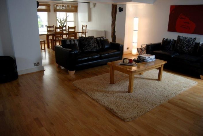 Interior wooden floor by RC Carpentry & Renovations