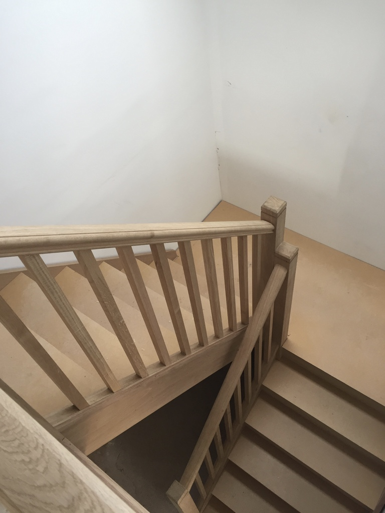 Bespoke wooden staircases designed and built by RC Carpentry & Renovations Brighton
