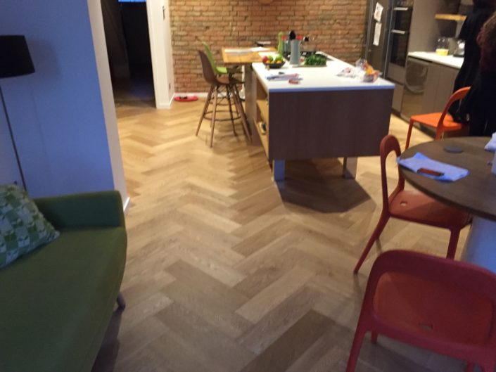 Parquet flooring by RC Carpentry & Renovations Brighton