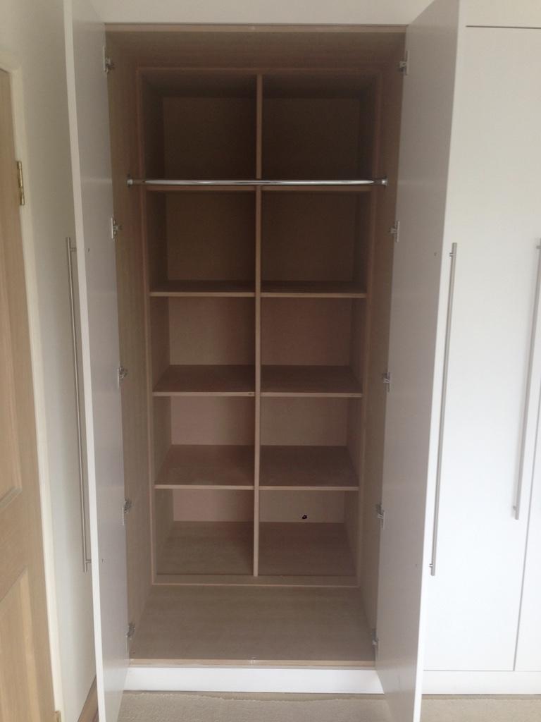 Bespoke bedroom wardrobe. Made to measure - RC Carpentry & Renovations Brighton