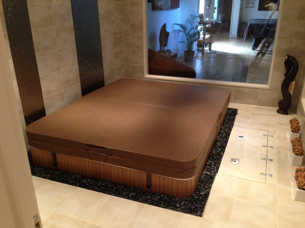 Wooden base for hot tub - RC Carpentry & Renovations Brighton